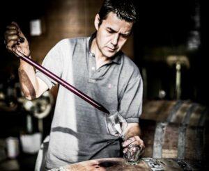 Burno Andreu wijn maken