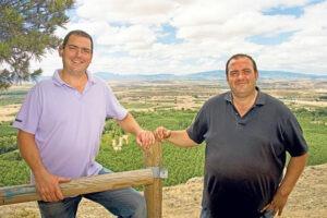 WIjnmakers Rioja wijngaard groen wolken