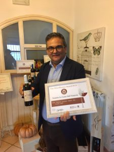 Italiaanse droge witte wijn