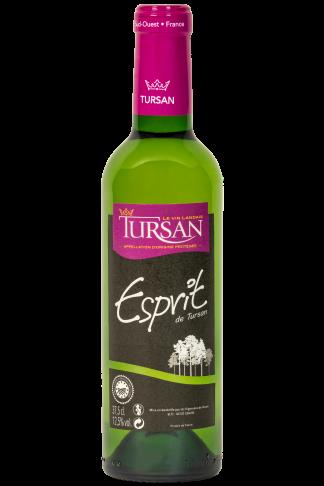 Franse droge witte wijn Tursan les Landes 37,5 klein flesje wijn Halfes 375ml Baroque druif