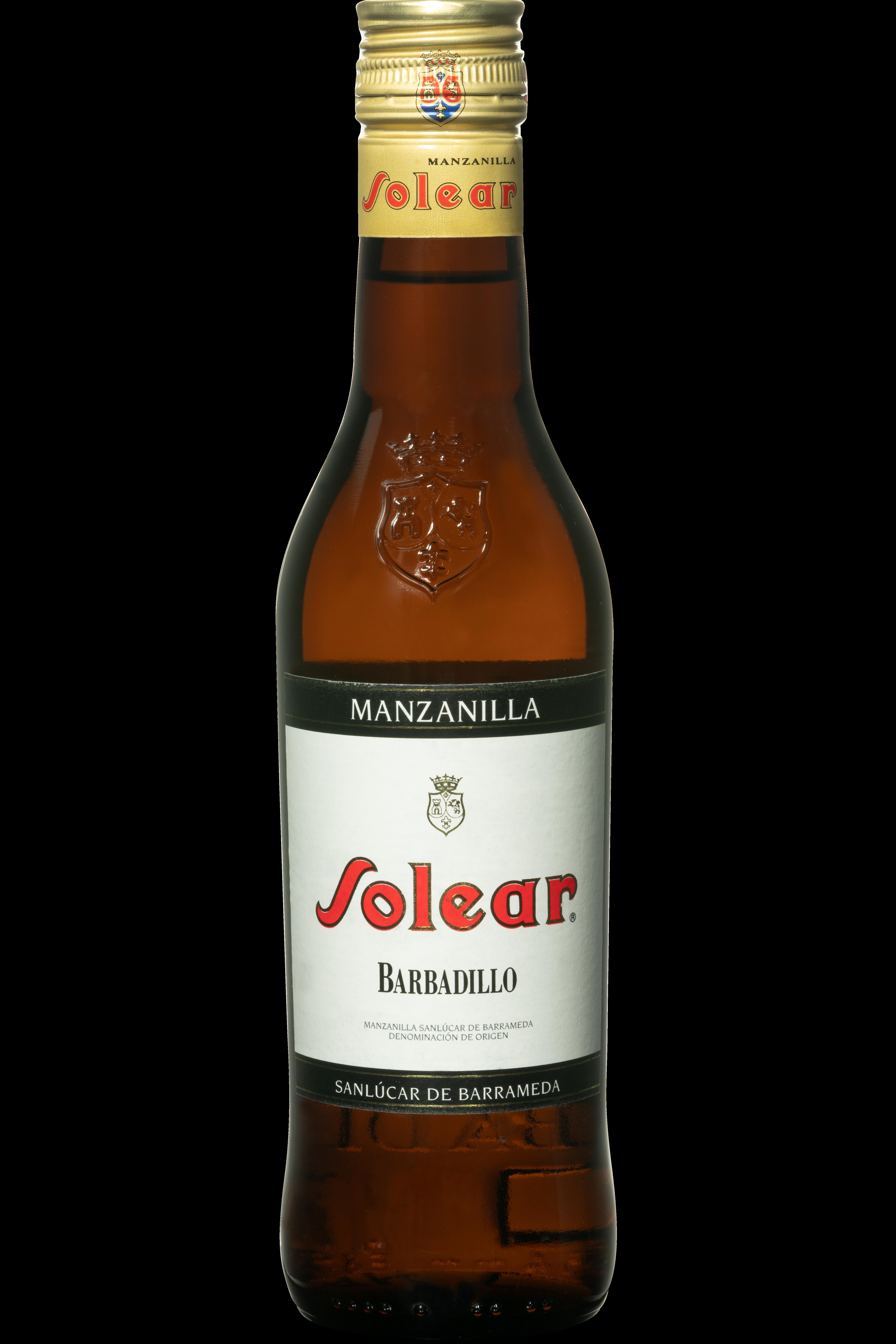 Manzanilla sherry solear 37,5 Spanje klein flesje sherry wijn