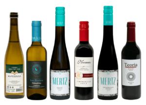 Wijnpakket kleine flesjes wijn