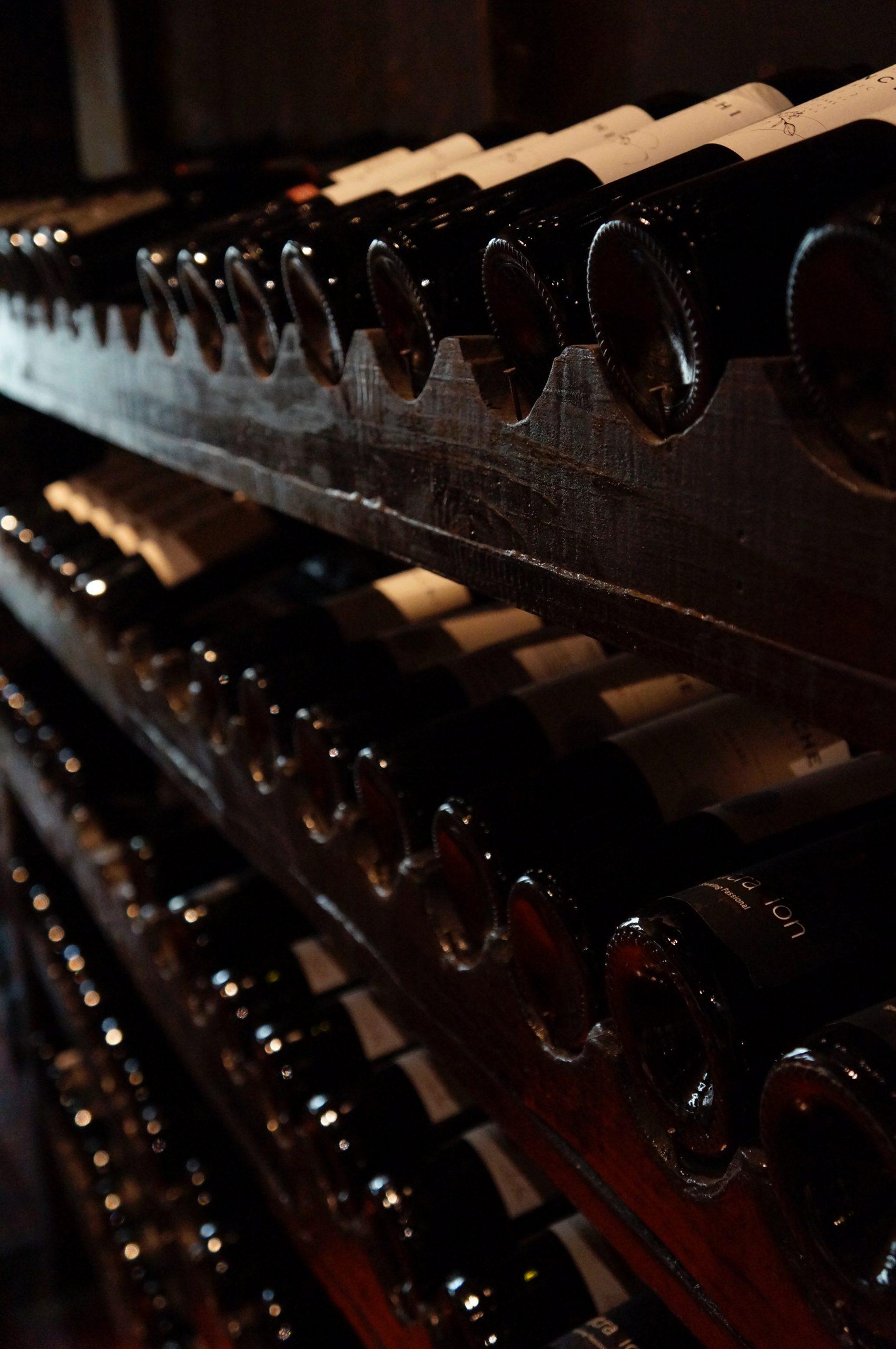 wijnkelder wijn halfes