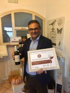 Andrea Forno Halfes 375ml Italiaanse rode wijn Lacryma Christi vesuvius