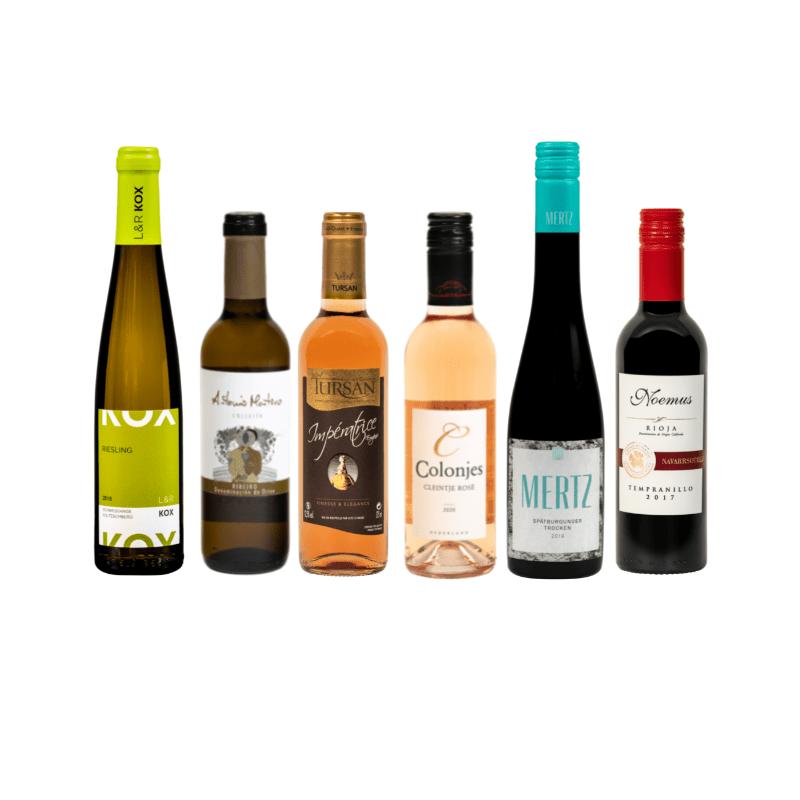 Kleine flessen wijn kopen zomerwijnen
