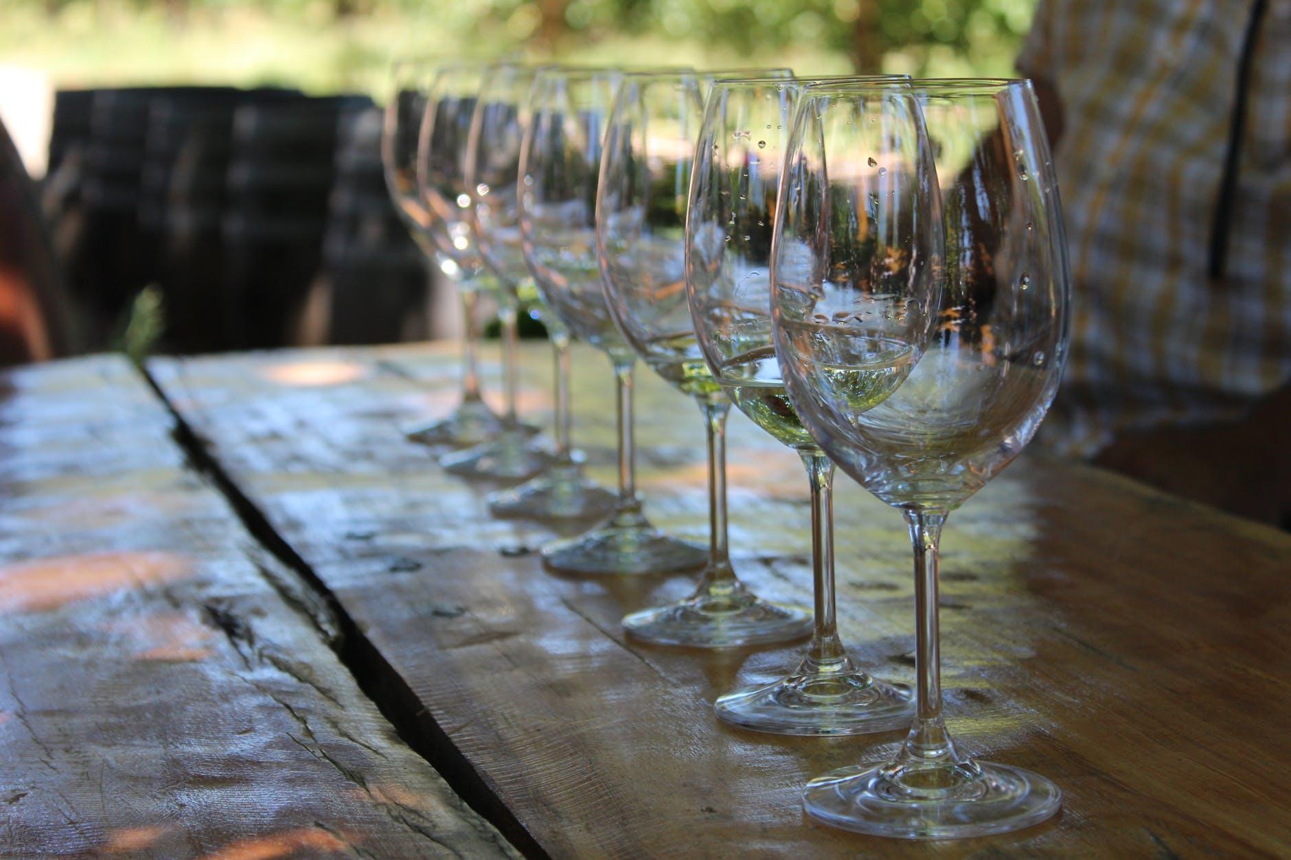 Wijnproeverij kleine flessen wijn 375ml Halfes Utrecht