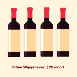 Online Wijnproeverij 20 maart