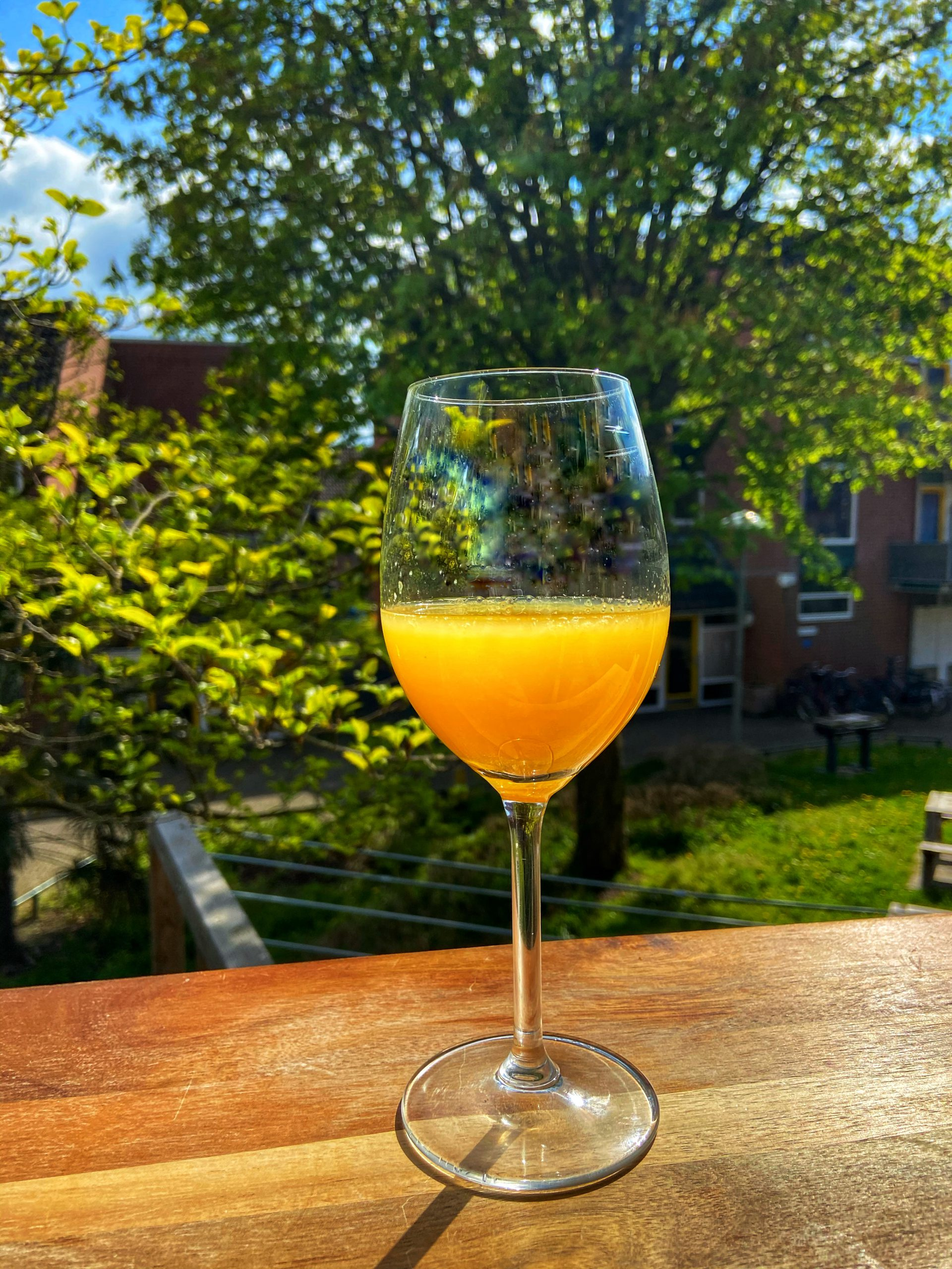 Wijncocktail Mimosa Verde