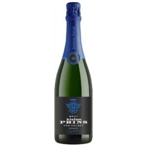Domein Holset mousserende wijn Prinsje van Holset blauw champagne bubbels