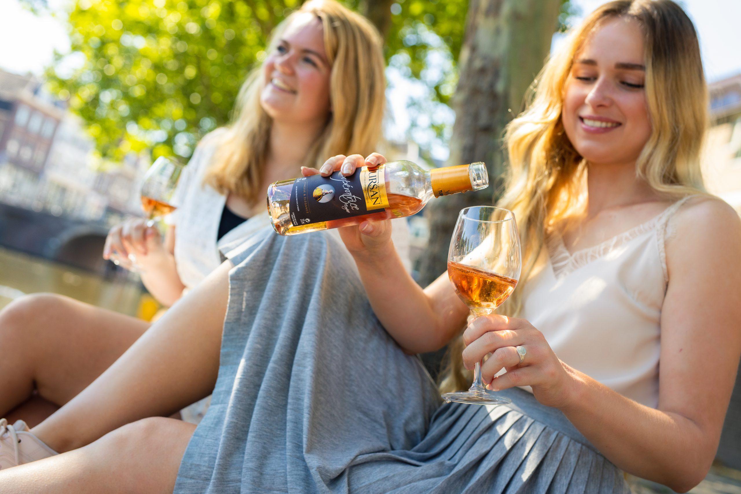 Rosé vrouwen drinken Utrecht