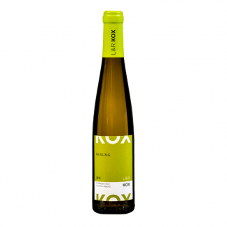 kleine fles riesling wijn