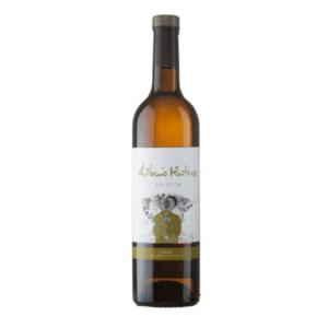 Kleine fles Spaanse witte wijn