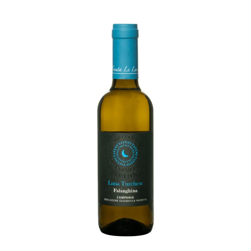kleine fles Italiaanse witte wijn
