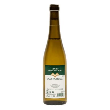 kleine fles Portugese witte wijn