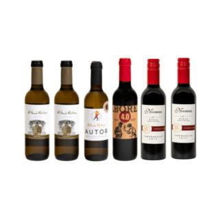 kleine flessen Spaanse wijn