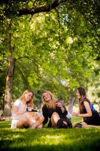 park wijn zomer