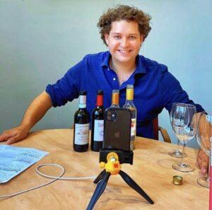 Online Wijnproeverij digitale wijnproeverij jasper smit