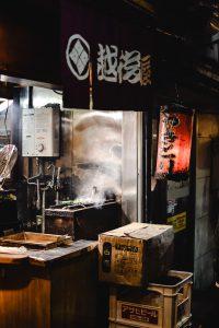 Japanse yakitori kip
