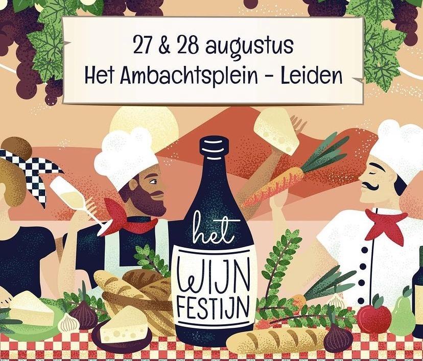 Wijnfestivals Leiden